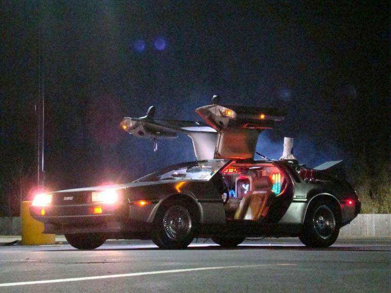 The DeLorean DMC-12 from Back to the Future